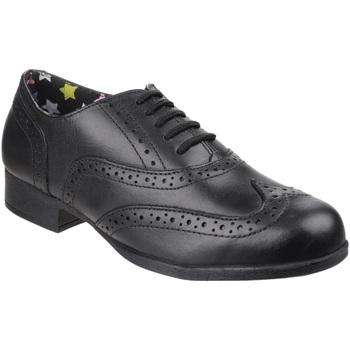 Chaussures Fille Derbies Hush puppies  Noir