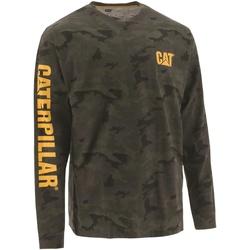 Vêtements Homme T-shirts manches longues Caterpillar  Marron