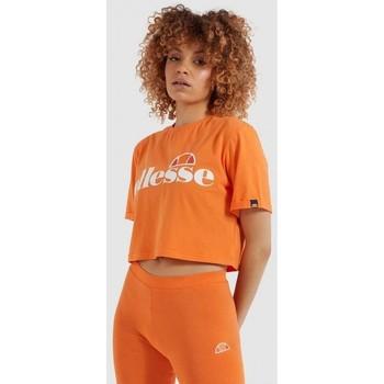 Vêtements Femme Chemises / Chemisiers Ellesse T-SHIRT FEMME MANCHES COURTES  SGI04484 Orange