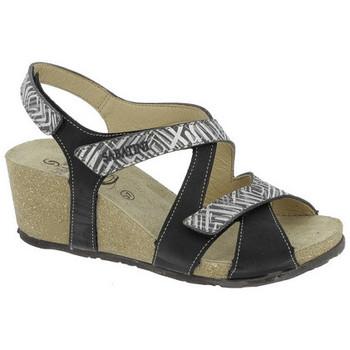 Chaussures Femme Sandales et Nu-pieds Sabatini BOIS DE SANTAL  - 2603 Noir