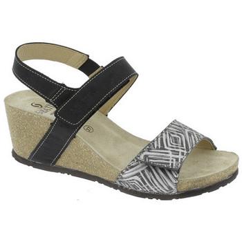 Chaussures Femme Sandales et Nu-pieds Sabatini BOIS DE SANTAL  - 2604 Noir