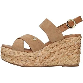 Chaussures Femme Sandales et Nu-pieds Wrangler WL11640A Beige