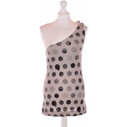 Vêtements Femme Débardeurs / T-shirts sans manche Miss Sixty Débardeur  36 - T1 - S Gris
