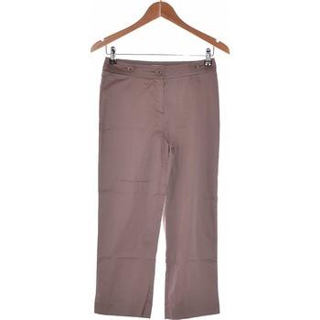 Vêtements Femme Chinos / Carrots 1.2.3 Pantalon Droit Femme  36 - T1 - S Gris
