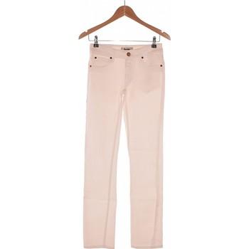 Vêtements Femme Jeans droit Acne Jean Droit Femme  36 - T1 - S Blanc