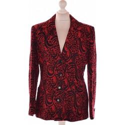 Vêtements Femme Vestes / Blazers Balmain Blazer  40 - T3 - L Rouge