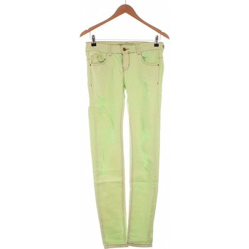 Vêtements Femme Jeans slim Zara Jean Slim Femme  36 - T1 - S Vert