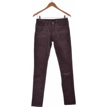 Vêtements Femme Pantalons Ekyog Pantalon Slim Femme  36 - T1 - S Violet