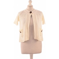 Vêtements Femme Gilets / Cardigans Weill Gilet Femme  36 - T1 - S Blanc