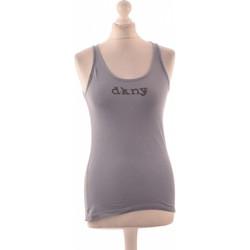 Vêtements Femme Débardeurs / T-shirts sans manche Dkny Débardeur  36 - T1 - S Bleu
