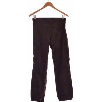Vêtements Femme Chinos / Carrots Sisley Pantalon Droit Femme  36 - T1 - S Noir