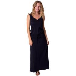 Vêtements Femme Robes longues Coton Du Monde Nadine Noir