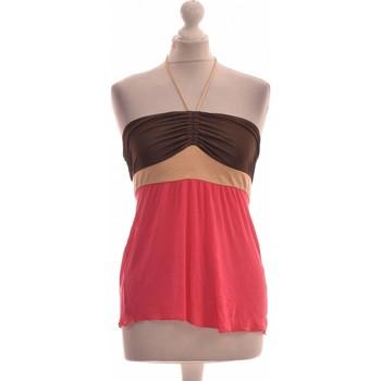 Vêtements Femme Tops / Blouses Miss Sixty Débardeur  36 - T1 - S Rose
