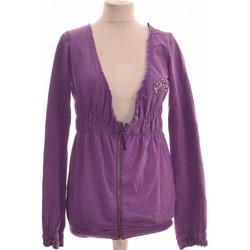 Vêtements Femme Gilets / Cardigans Fornarina Gilet Femme  38 - T2 - M Violet