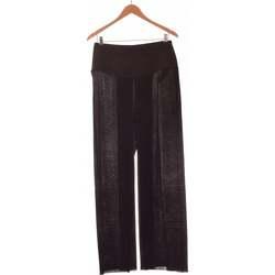 Vêtements Femme Pantalons fluides / Sarouels Rinascimento Pantalon Droit Femme  40 - T3 - L Noir