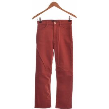 Vêtements Femme Jeans slim Mango Jean Slim Femme  34 - T0 - Xs Rouge