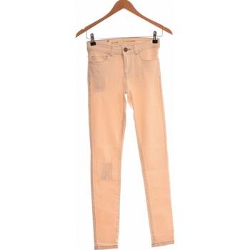 Vêtements Femme Jeans droit Naf Naf Jean Droit Femme  34 - T0 - Xs Beige