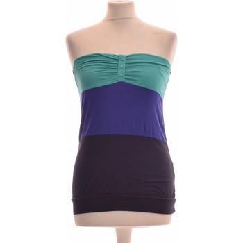 Vêtements Femme Tops / Blouses Cache Cache Débardeur  38 - T2 - M Bleu