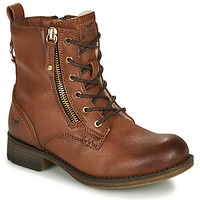 Chaussures Fille Boots Mustang 5026-623-308 Marron