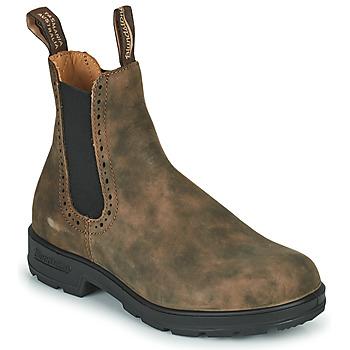 Chaussures Femme Boots Blundstone ORIGINAL HIGH TOP CHELSEA BOOTS 1351 Marron