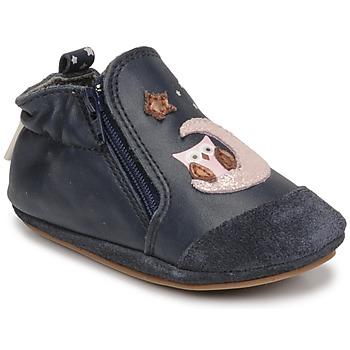 Chaussures Fille Chaussons bébés Robeez NICE OWL Marine