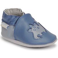 Chaussures Garçon Chaussons bébés Robeez DIFLYNO Bleu