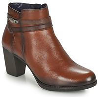 Chaussures Femme Bottines Dorking EVELYN Marron
