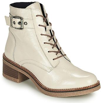 Chaussures Femme Bottines Dorking LUCERO Ecru