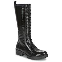 Chaussures Femme Bottes ville Dorking WALKING Noir