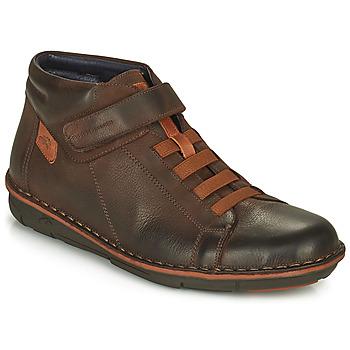 Chaussures Homme Baskets montantes Fluchos ALFA Marron