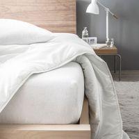 Maison & Déco Draps housse Gadget Et Bazar Alèse en coton molleton 160 x 200 cm Blanc