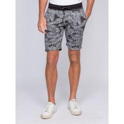 Vêtements Homme Shorts / Bermudas Ritchie Bermuda molleton motifs BENDORF Gris foncé