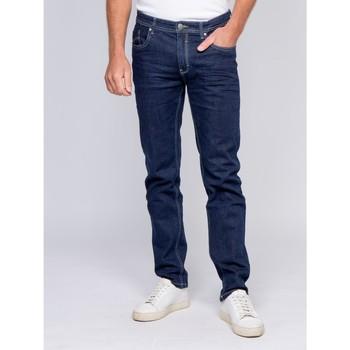 Vêtements Homme Jeans slim Ritchie Jean adjusted SALZA Bleu foncé