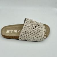 Chaussures Femme Conditions des offres en cours Strategia MOON F06 MULE CROCHET Beige
