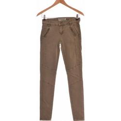 Vêtements Femme Jeans slim Creeks Jean Slim Femme  34 - T0 - Xs Vert