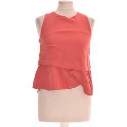 Vêtements Femme Tops / Blouses Bonobo Débardeur  36 - T1 - S Orange