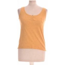 Vêtements Femme Débardeurs / T-shirts sans manche Soeur Débardeur  34 - T0 - Xs Jaune