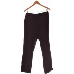Vêtements Femme Pantalons Cos Pantalon Droit Femme  38 - T2 - M Noir