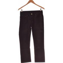 Vêtements Femme Pantalons School Rag Pantalon Droit Femme  36 - T1 - S Noir