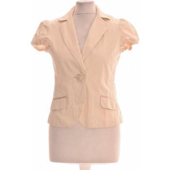 Vêtements Femme Vestes / Blazers H&M Gilet Femme  36 - T1 - S Beige