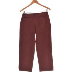 Vêtements Femme Pantalons fluides / Sarouels Dorotennis Pantalon Droit Femme  34 - T0 - Xs Rouge