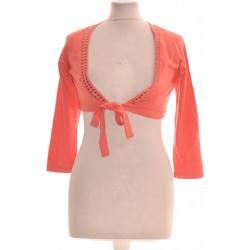 Vêtements Femme Gilets / Cardigans Formul Gilet Femme  38 - T2 - M Orange