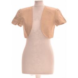 Vêtements Femme Gilets / Cardigans 1.2.3 Gilet Femme  38 - T2 - M Beige