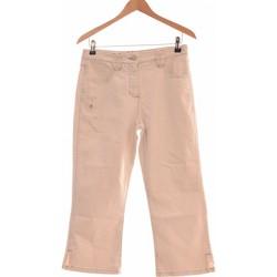 Vêtements Femme Pantalons Burton Pantalon Droit Femme  40 - T3 - L Beige