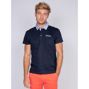 Vêtements Homme Polos manches courtes Ritchie Polo PINOLE Bleu marine