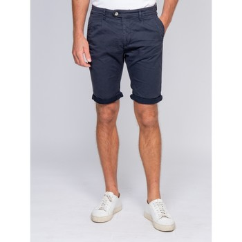 Vêtements Homme Shorts / Bermudas Ritchie Bermuda chino BARNAS Bleu marine