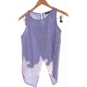 Vêtements Femme Tops / Blouses 2026 Débardeur  34 - T0 - Xs Bleu