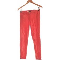 Vêtements Femme Jeans droit Pinko Jean Droit Femme  34 - T0 - Xs Rouge