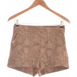 Vêtements Femme Shorts / Bermudas Zara Short  34 - T0 - Xs Marron