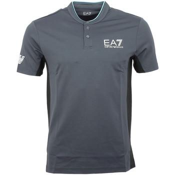 Vêtements Homme T-shirts manches courtes Ea7 Emporio Armani Tee-shirt EA7 Anthracite